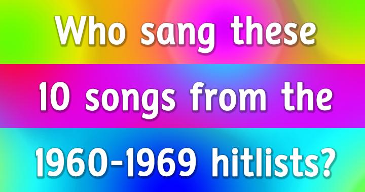 1960s Song Quiz