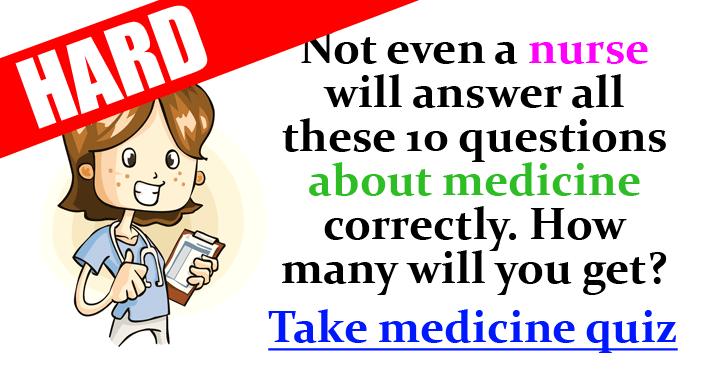 Medicine Trivia Quiz